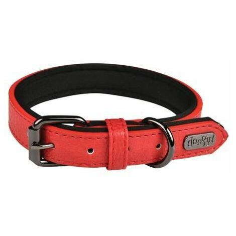 """main image of """"Collier chien Simili Basics Rouge Taille : T55"""""""