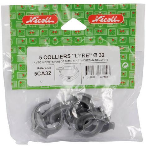 Colliers PVC MONOBLOC /Ø 100 Collier avec insert 7//150