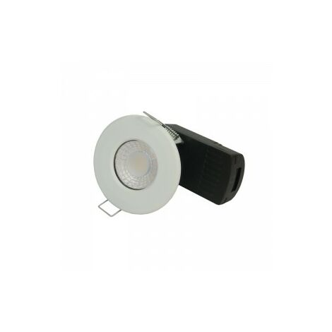 Collingwood Halers H2 Lite 500 LED Downlight With Terminal Block 60 Degree - Front Colour Switchable