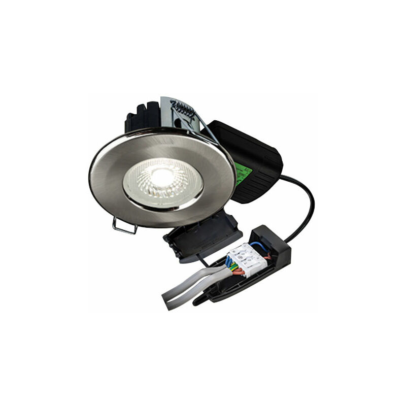 Image of Halers H2 Lite 500 Matt White LED Downlight With Terminal Block 60 Degree - Wall Colour Switchable - Collingwood