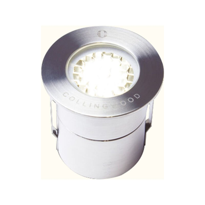 Image of Collingwood LED Small Spot Low Profile Walkover Ground Light 12 - Degree 1W - Warm White