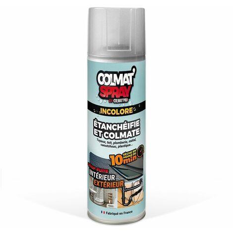 Colmat'Spray incolore étanchéifie et colmate en moins de 10 minutes