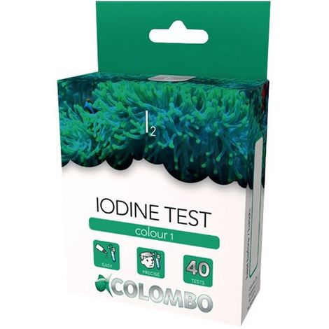 Colombo Marine Colour Iodine Test 40 Tests x 1 (60278)