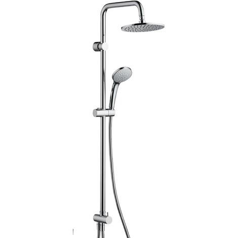 Saliscendi Per Doccia Ideal Standard.Colonna Doccia Ideal Standard Serie Idealrain Duo Cromata