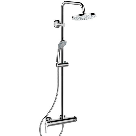 Saliscendi Per Doccia Ideal Standard.Colonna Doccia Serie Idealrain Soft Ideal Standard Cromata