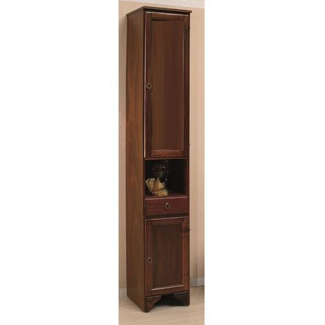 Colonna in legno massello armadio 196cm arte povera 756 - 5945846062353