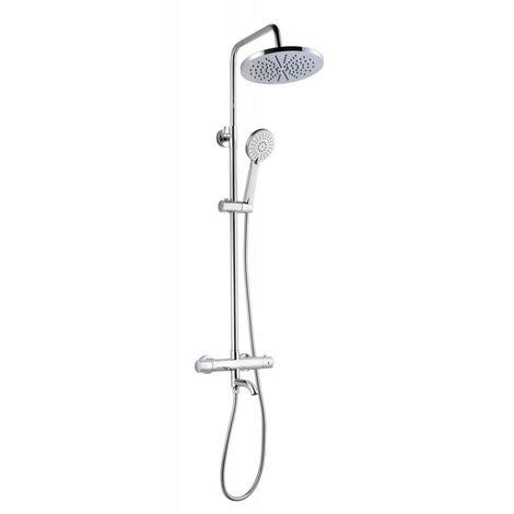 Colonne bain/douche thermostatique VOLANS Disflex chromé