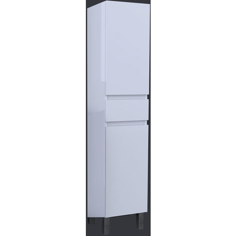 colonne blanche de sdb blanc 1101817hb80762. Black Bedroom Furniture Sets. Home Design Ideas
