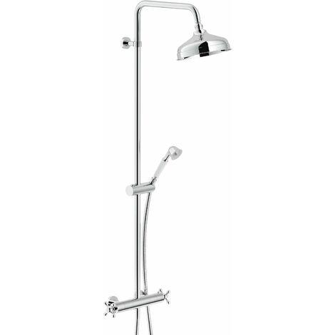 Colonne de douche avec mitigeur thermostatique Nobili grazia GRC0030/30CR | Chromé
