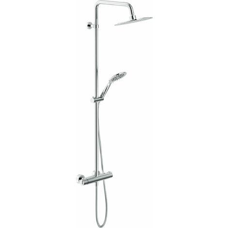 Colonne de douche avec mitigeur thermostatique Nobili TY85330/34CR   Chromé - Thermostatique