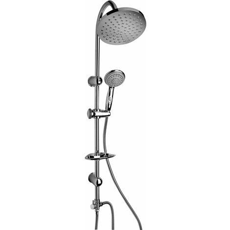 Colonne de douche avec pomme de douche Ø 200 mm Piralla Elba 0HR00846E16 | Chromé