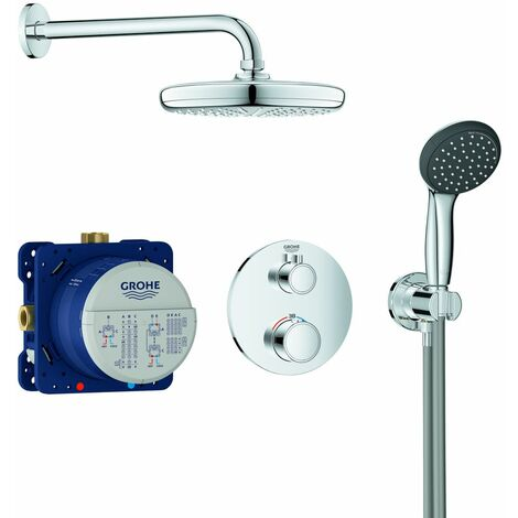 Colonne de Douche Grohe - Precision Trend + Vitalio Start 210 Chrome