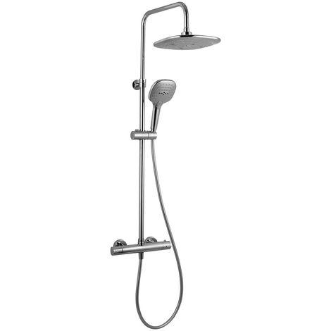 Colonne de douche mitigeur thermostatique / berens