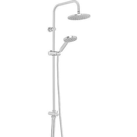 Colonne de douche Nestos avec douchette, pomme de douche diam. 190mm, chrome