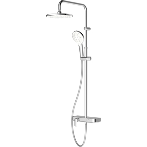 Colonne de Douche + robinet AquaVive - Fiora Chrome