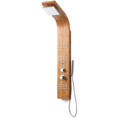 colonne de douche thermostatique bambou potomac 22280. Black Bedroom Furniture Sets. Home Design Ideas