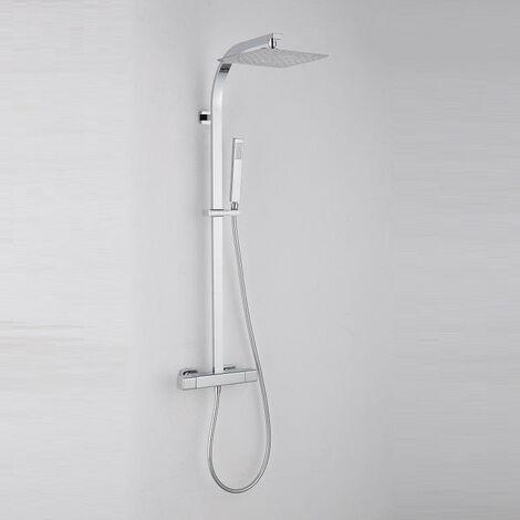 Colonne de douche thermostatique PANI avec technologies Air+® et KeepCool®