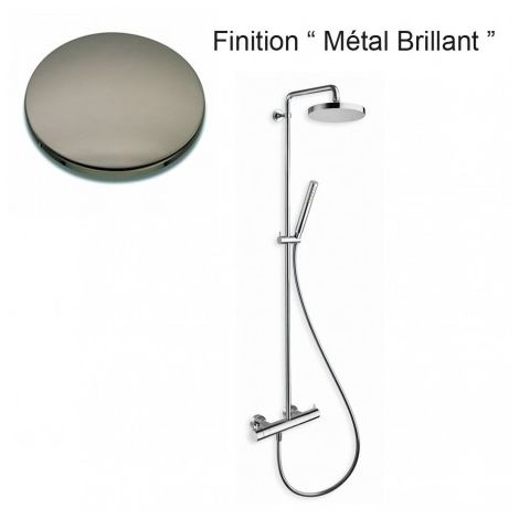 COLONNE DE DOUCHE TRIVERDE THERMOSTATIQUE COMPLETE METAL BRILLANT - CRISTINA ONDYNA TV48680