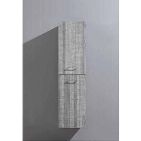 Colonne de salle de bain Jupiter 2.0 135cm Bois Gris Scié