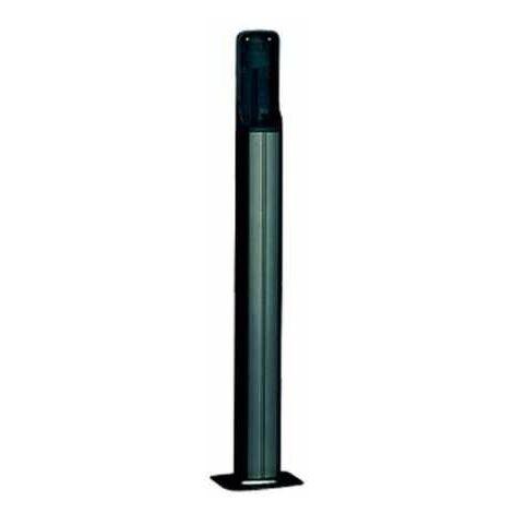 Colonne en aluminium anodisé DIR-LN H = 0,5M CAME couleur noire