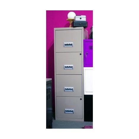 Colonne Métal à tiroirs TAUPE