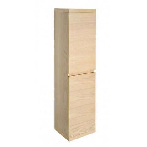 Colonne salle de bain 165 cm à suspendre chêne ENIO