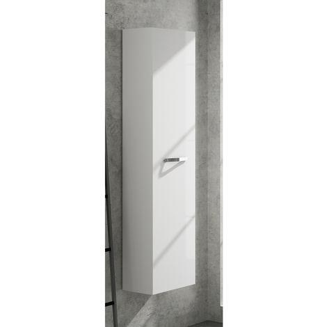Colonne salle de bain L40 x H150 cm blanc brillant ANGELO NEOVA