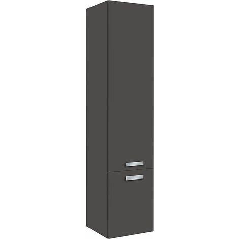 colonne serie MAB 2 portes anthracite mat butée à gauche 350x1585x370mm