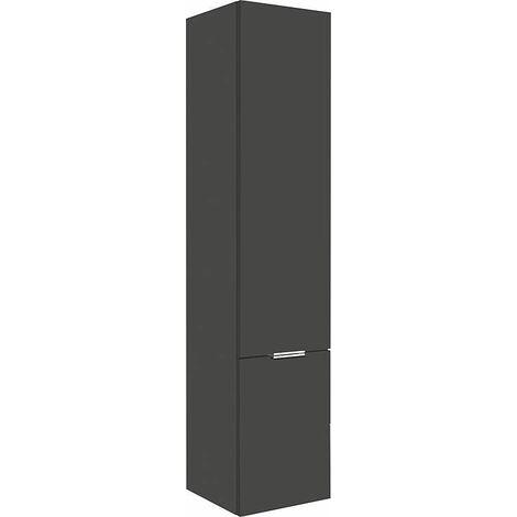 colonne serie MBF 2 portes anthractie mat butée à gauche 350x1625x370mm