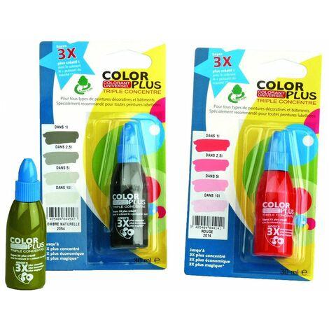 Color Plus 3x 30cc Blist Terre Ocre - COLOR PLUS