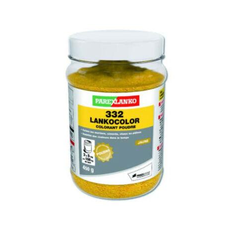Colorant jaune LANKOCOLOR en poudre - 450g - L332JAUNE450 - Jaune