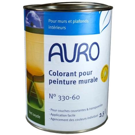 Auro Colorant Pour Peinture Murale Teinte Vert Oxyde 2 5