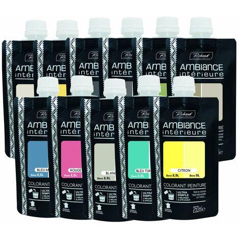 Colorant Rouge Brique 250ml - AMBIANCE