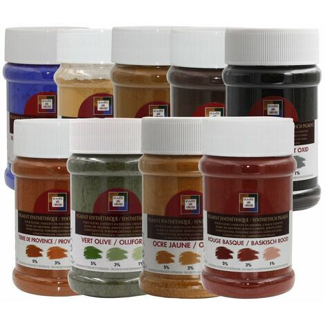 Colorant Sienne Naturel Pot250ml - MALLE AUX COULEURS