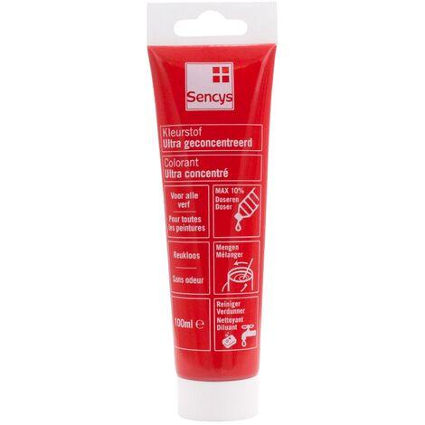 Colorant ultra concentré Sencys - Rouge 100ml