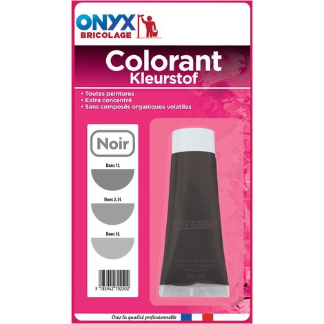 Colorant universel 25 ml Onyx