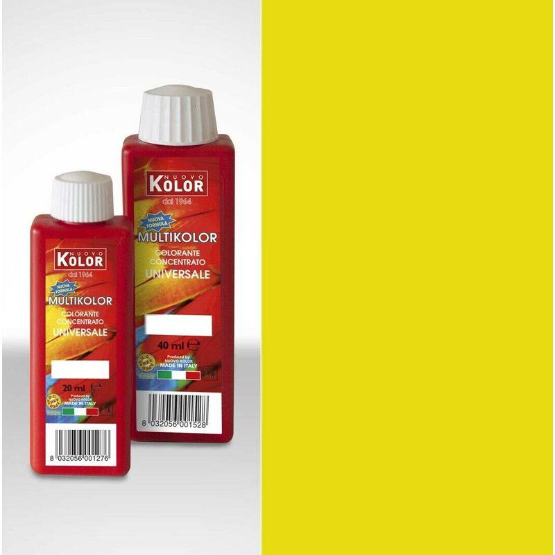 Image of Colorante Giallo 45 ml - Acolor