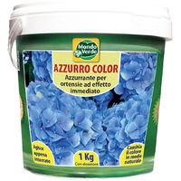 Colorante azzurro per ortensie 1 Kg in secchiello