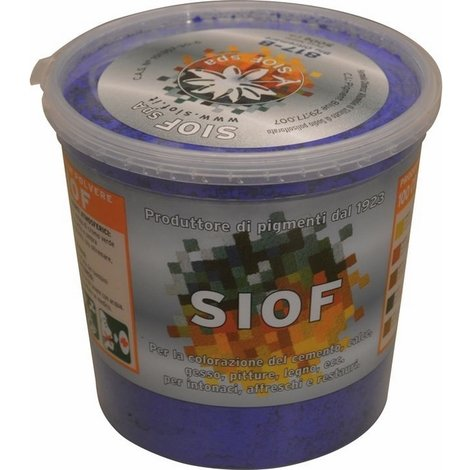 """main image of """"Colorante Siof 500 gr Terra Blu Oltremare 817 per colorazione di cemento e calce"""""""