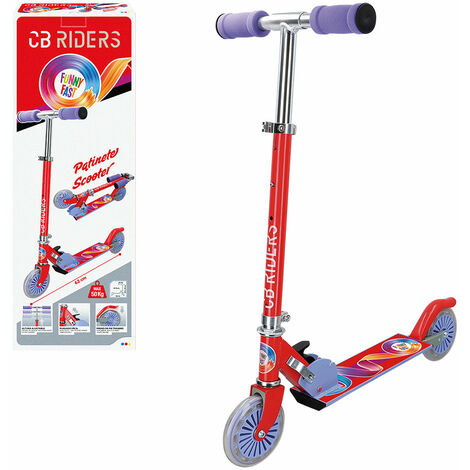 ColorBaby - Patinete infantil plegable CB RIDERS rueda 120 mm (54067)