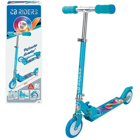 ColorBaby - Patinete scooter infantil plegable CB RIDERS rueda 120 mm (54068)