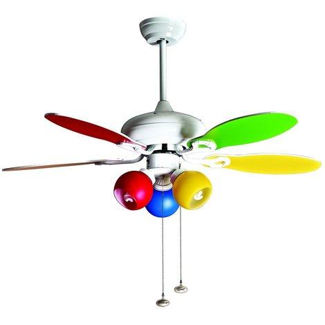 Colore de Purline By KlassFan un ventilateur de plafond avec
