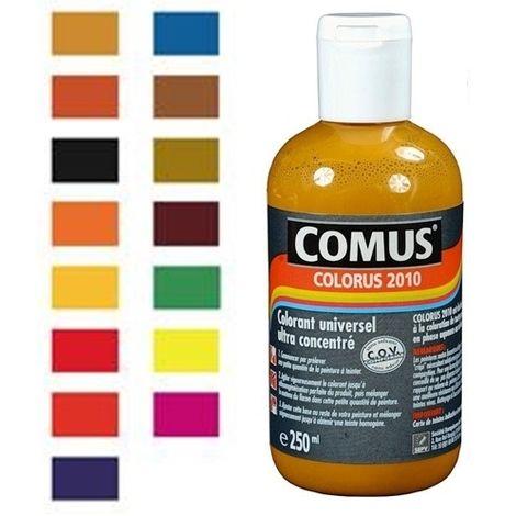 COLORUS 2010 - SIENNE NATURELLE 30ml - Colorant Universel Ultra-Concentré - COMUS