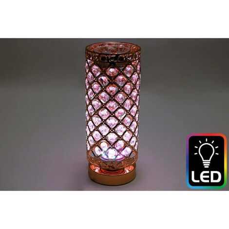 Colour Changing LED Aroma Diffuser Rose Gold