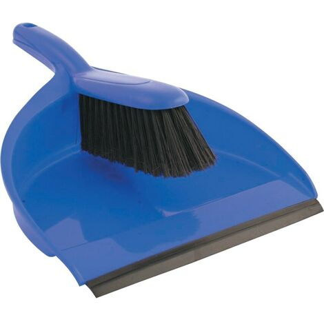 Colour-Coded Dustpan and Stiff Brush Sets