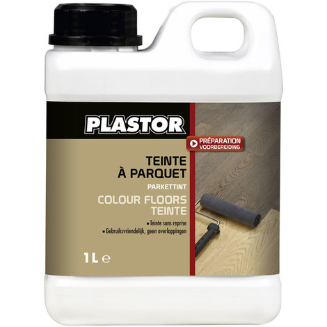 Colour Floors teinte parquet Plastor (1L) : colore intensément votre parquet - 14 teintes au choix