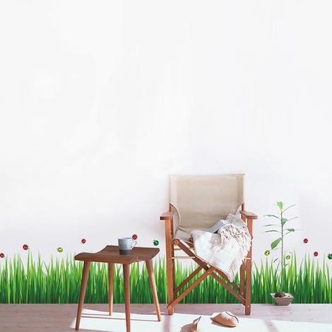 Colourful Ladybird Grass - 140cm x 30cm