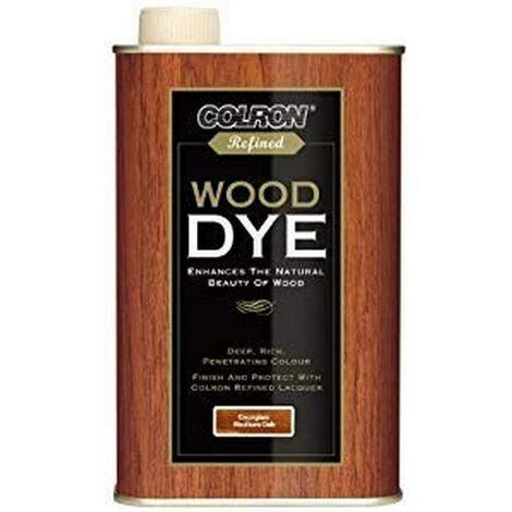 Colron Refined Wood Dye - Medium Oak 500ml