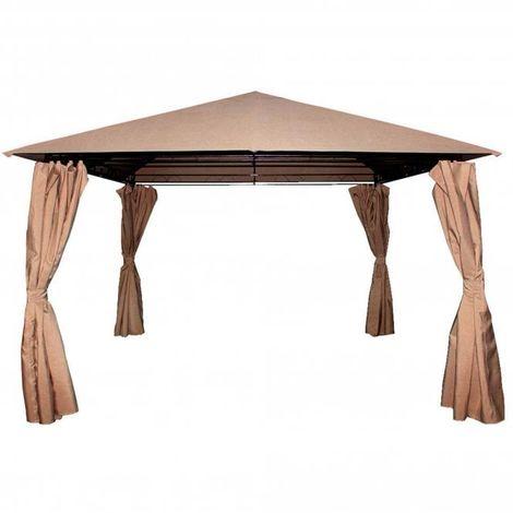 Columbus 4x3m Canopy Mocha