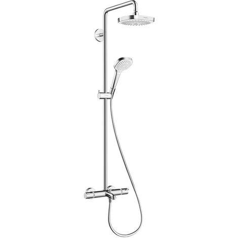 Columna de bañera Showerpipe Croma Select E180 2 Jet 27352400 de Hansgrohe